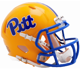 Pittsburgh Panthers NCAA Mini Speed Gold