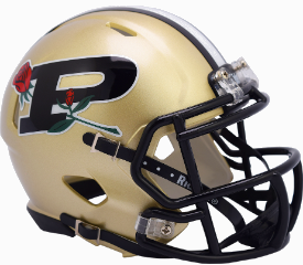 Purdue Boilermakers NCAA Mini Speed 20th anniv Rose Bowl