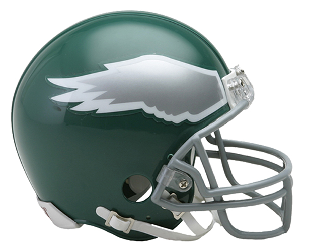 Philadelphia Eagles 1974 to 1995 Mini Throwback
