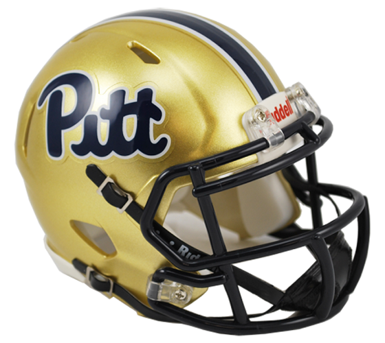 Pittsburgh Panthers NCAA Mini Speed Pitt Script