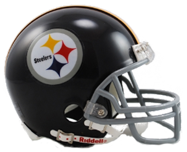 Pittsburgh Steelers 1963 to 1976 Mini Throwback