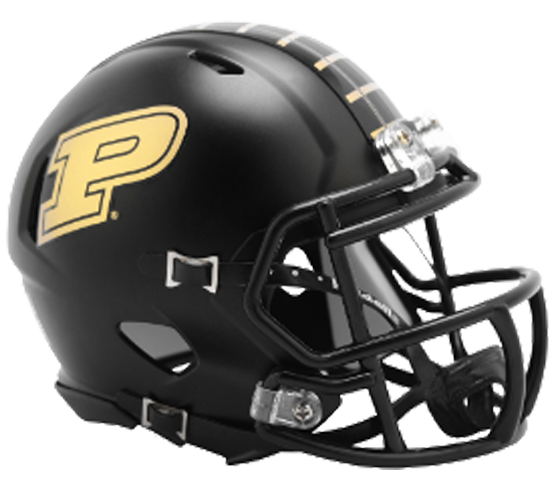 Purdue Boilermakers NCAA Mini Speed Anodized Black