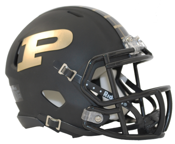 Purdue Boilermakers NCAA Mini Speed Matte Black
