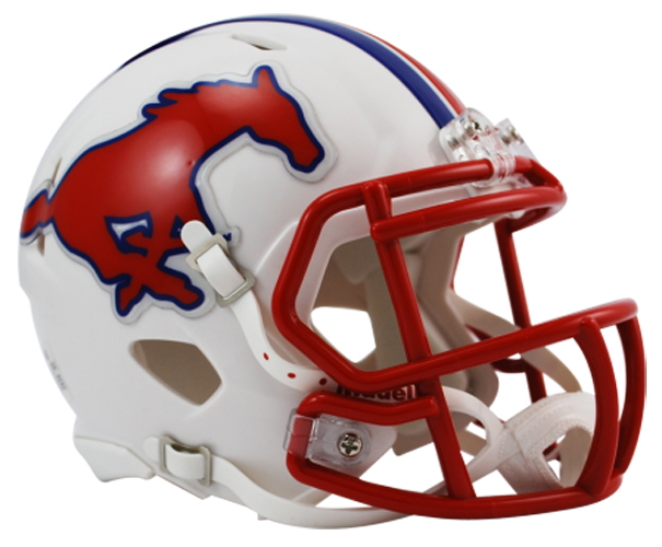 Southern Methodist (SMU) Mustangs NCAA Mini Speed