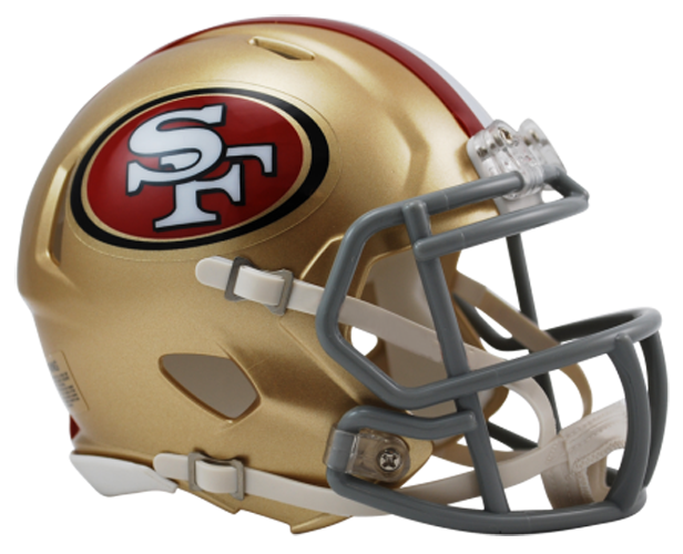 San Francisco 49ers NFL Mini Speed