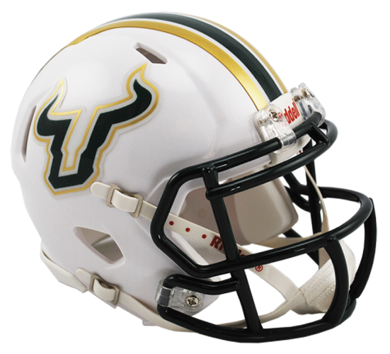 South Florida Bulls NCAA Mini Speed White