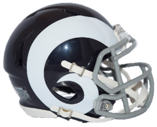 St. Louis Rams NFL Mini Speed 2016 Color Rush