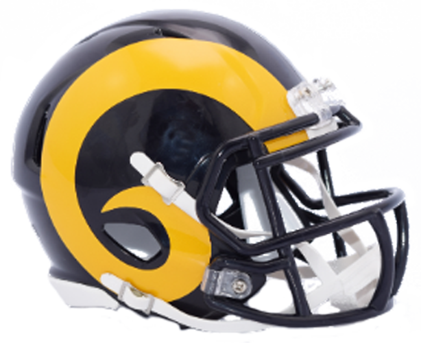 St. Louis Rams NFL Mini Speed 2018 Color Rush