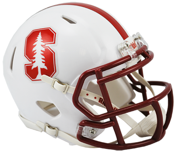 Stanford Cardinal NCAA Mini Speed Chrome Decal 2015