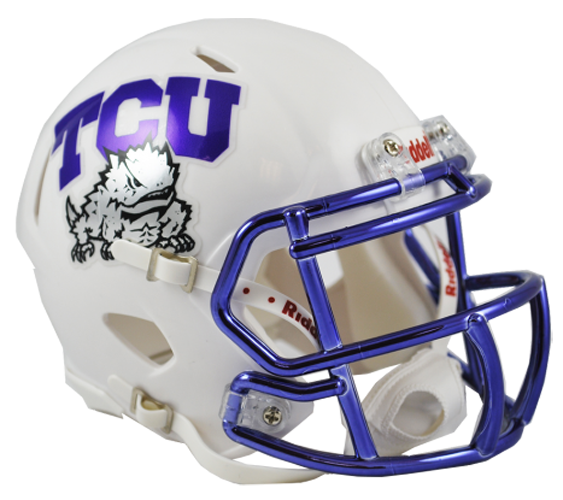 TCU Horned Frogs NCAA Mini Speed Chrome Decal