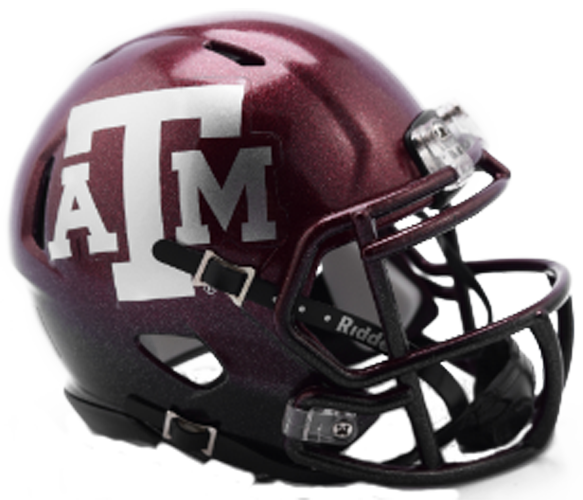 Texas A&M Aggies NCAA Mini Speed 2018 Two Tone