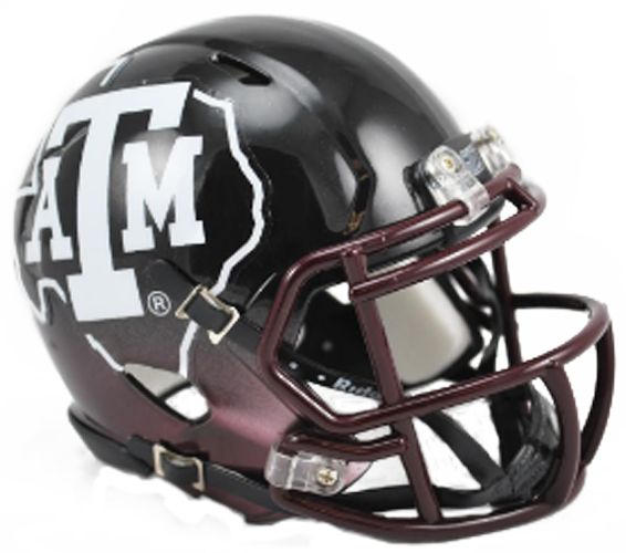 Texas A&M Aggies NCAA Mini Speed 2012 Black