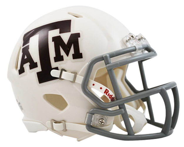 Texas A&M Aggies NCAA Mini Speed White