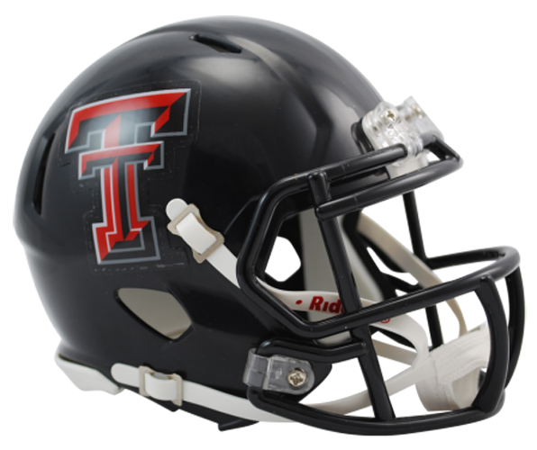 Texas Tech Red Raiders NCAA Mini Speed Chrome Logo