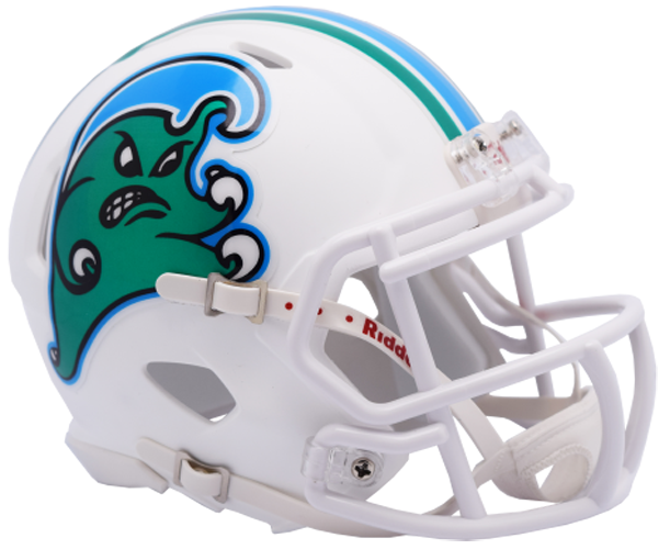 Tulane Green Wave NCAA Mini Speed Angry Wave