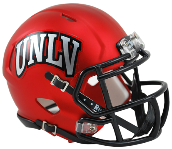 UNLV Runnin Rebels NCAA Mini Speed Satin Red