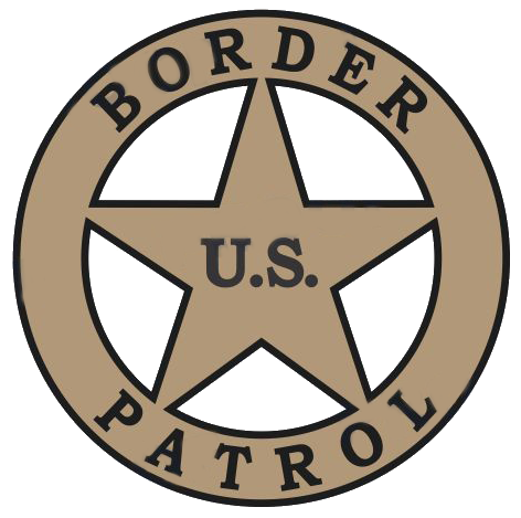 USBP Badge Logo Mini Helmet