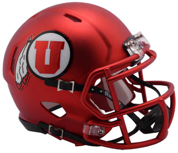 Utah Utes NCAA Mini Speed 2017 Red Pearl
