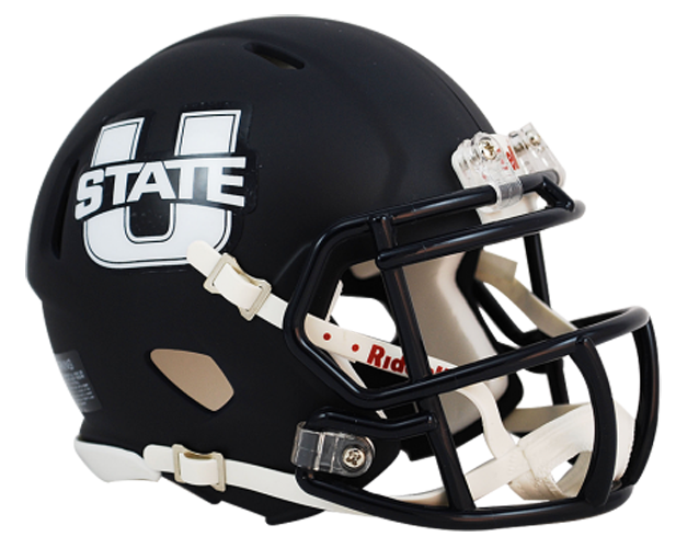 Utah State Aggies NCAA Mini Speed Matte Navy