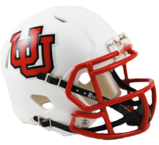 Utah Utes NCAA Mini Speed Interlocking U