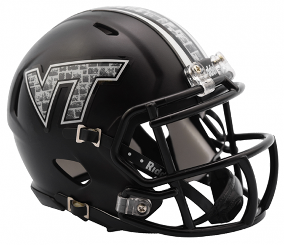 Virginia Tech Hokies NCAA Mini Speed Matte Black