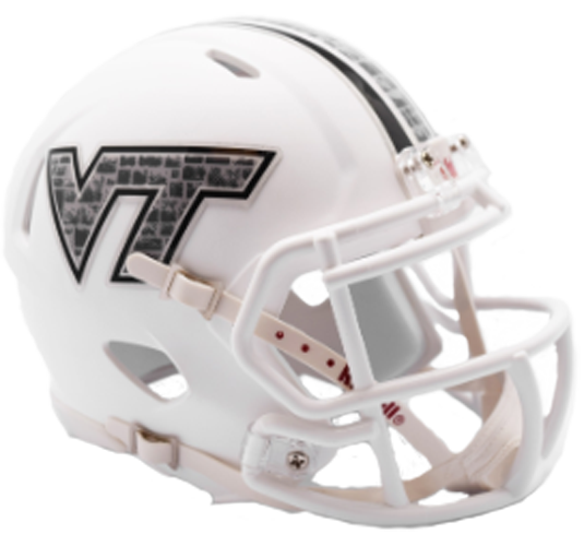 Virginia Tech Hokies NCAA Mini Speed Hokie Stone Decal