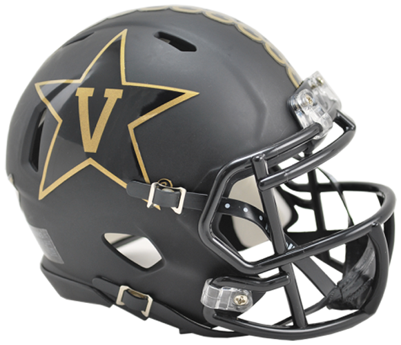 Vanderbilt Commodores NCAA Mini Speed Matte Black Anchor