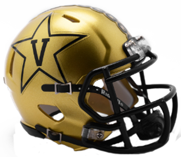Vanderbilt Commodores NCAA Mini Speed GOLD 2018