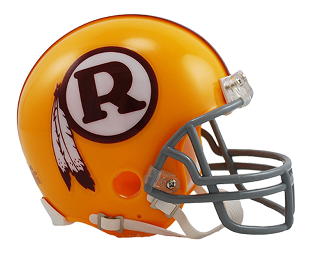 Washington Redskins 1970 to 1971 Mini Throwback