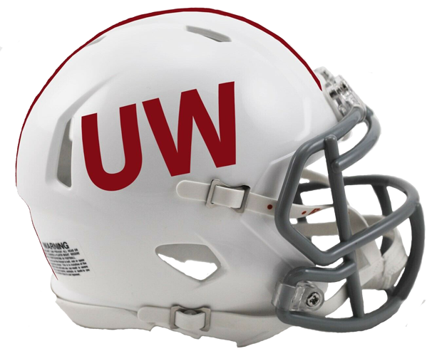 Wisconsin Badgers NCAA Mini Speed UW Throwback