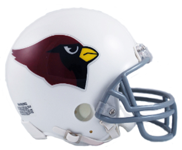 Arizona Cardinals 1960 to 2004 Mini Throwback