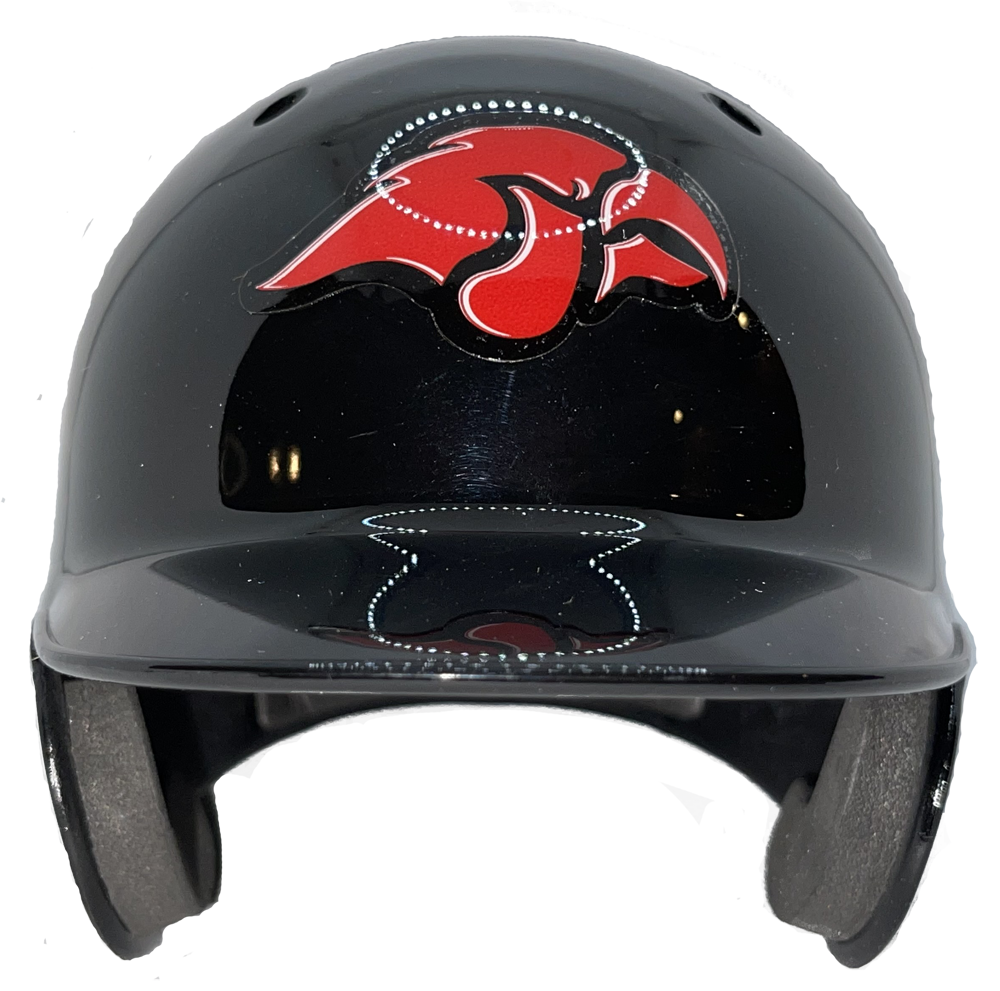 Cedar Sprints Red Hawks Mini Baseball Helmet
