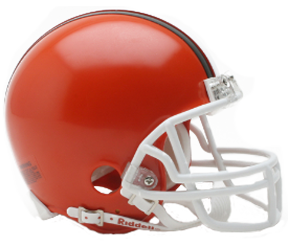 Cleveland Browns 1975 to 2005 Mini Throwback