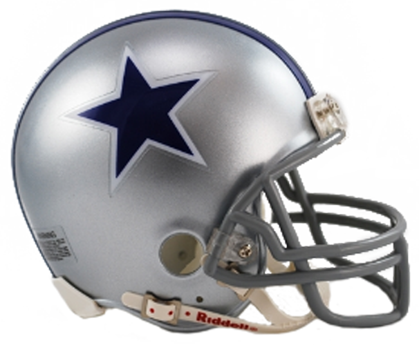 Dallas Cowboys 1964 to 1966 Mini Throwback