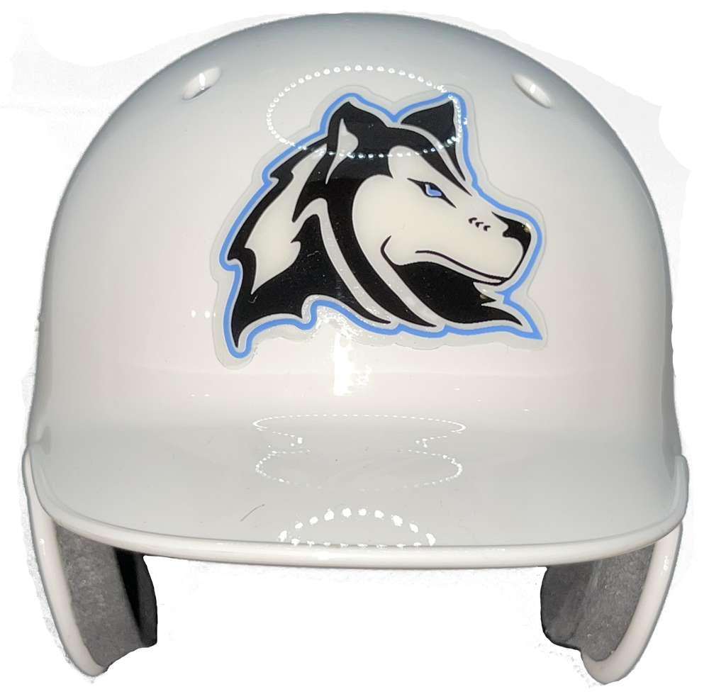 Forest Hills Northern Huskies Mini Baseball Helmet