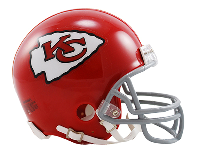 Kansas City Chiefs 1963 to 1973 Mini Throwback