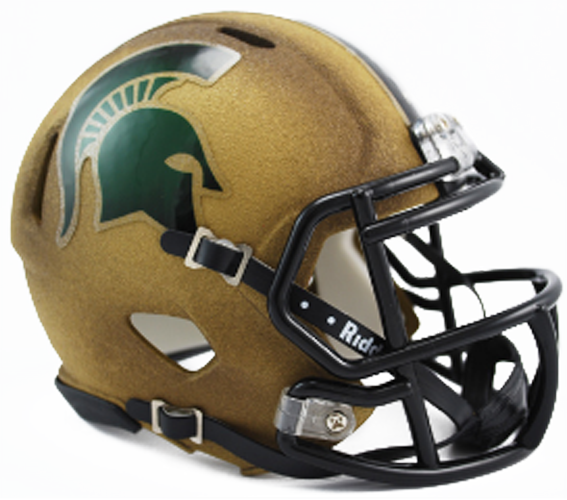 Michigan State Spartans NCAA Mini Speed Special Textured
