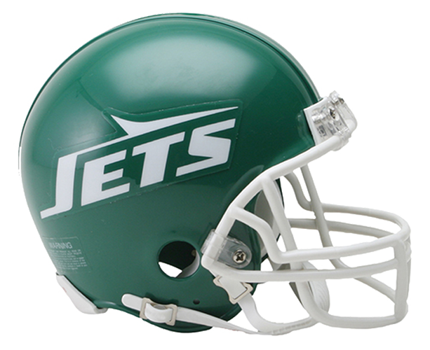 New York Jets 1978 to 1989 Mini Throwback