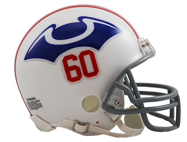 New England Patriots 1960 Mini Throwback
