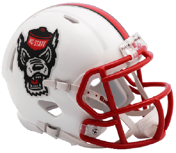 North Carolina State Wolfpack NCAA Mini Speed 2017 Tuffy