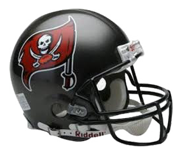 Tampa Bay Buccaneers 1997 to 2013 Mini Throwback