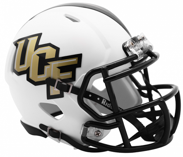 Central Florida Golden Knights NCAA Mini Speed Matte White